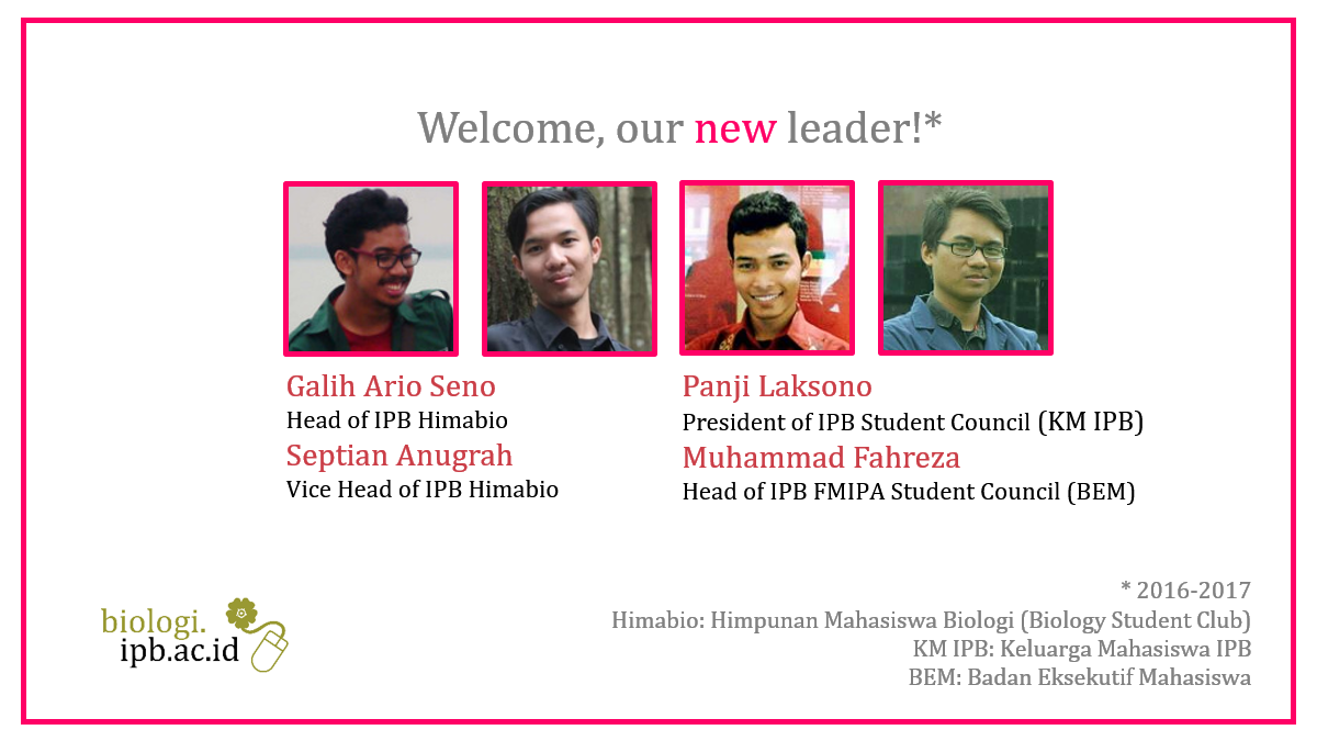 Biologist as New Leader