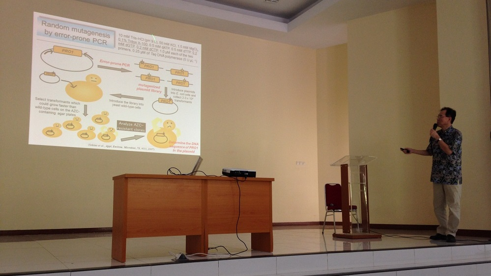 Prof. Hiroshi Takagi (NAIST, Japan) Talking about Yeast Genetic Engineering and Its Applications