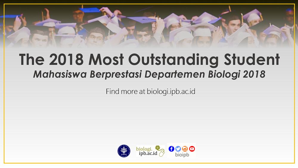 The 2018 Most Outstanding Student Registration