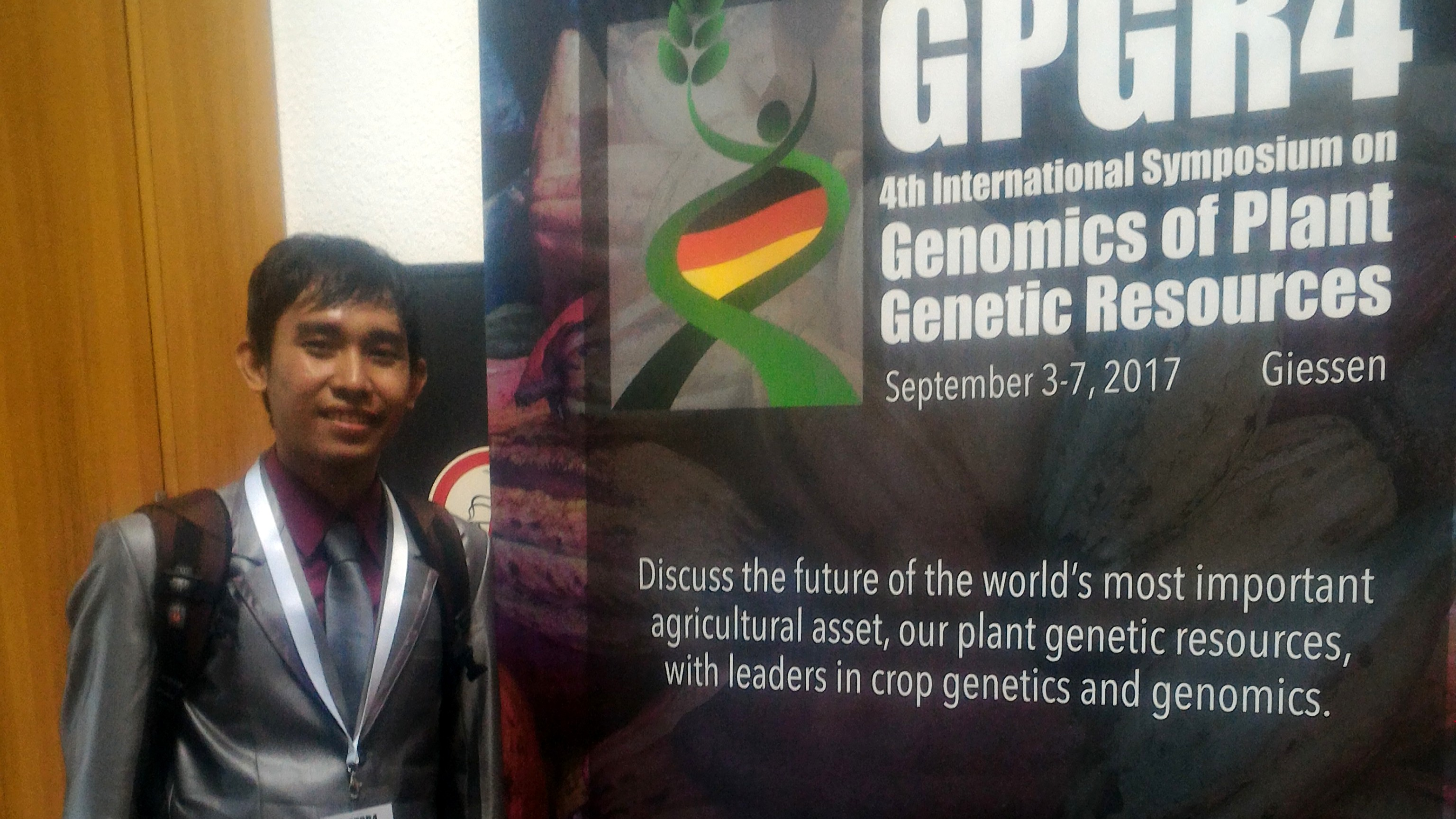 Fendi Attending the Symposium on Genomics of Plant Genetic Resources (GPGR4) Germany