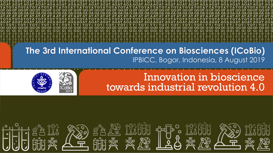 The 3rd International Conference on Biosciences (ICoBio)