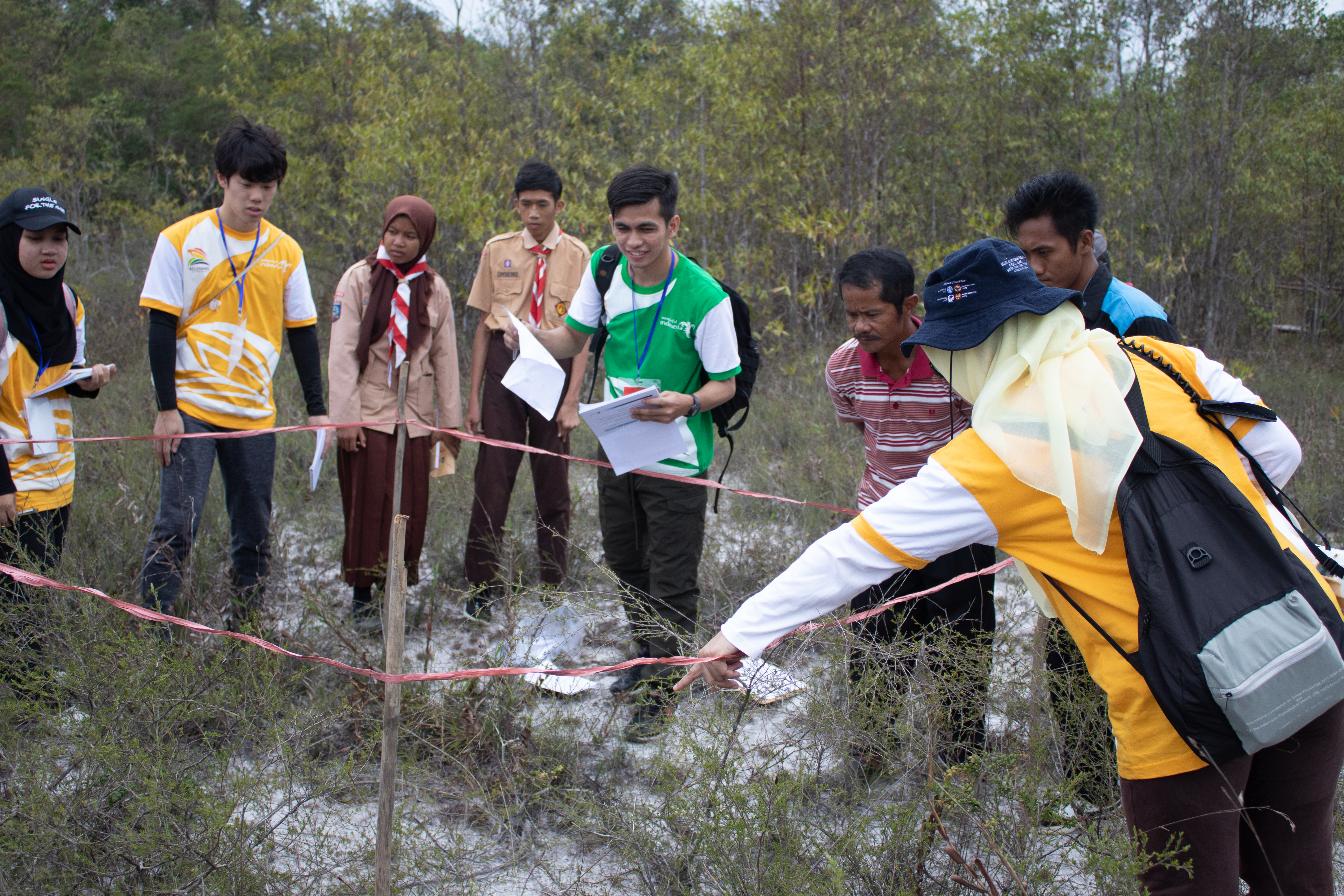 Students from 7 Countries Learn Biodiversity through the Summer Course Bio-Geo of Belitong Geopark